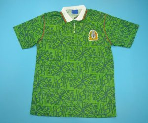 Shirt Front, Mexico 1994 Home Short-Sleeve