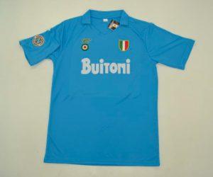 Shirt Front, Napoli 1987-88