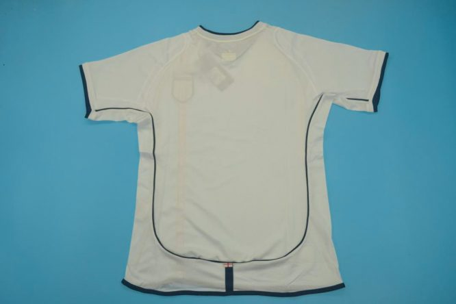 Shirt Back Blank, England 2002 Home Short-Sleeve