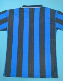 Shirt Back Blank, Inter Milan 1997-1998 Home