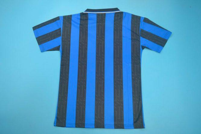 Shirt Back Blank, Inter Milan 1997-1998 Home