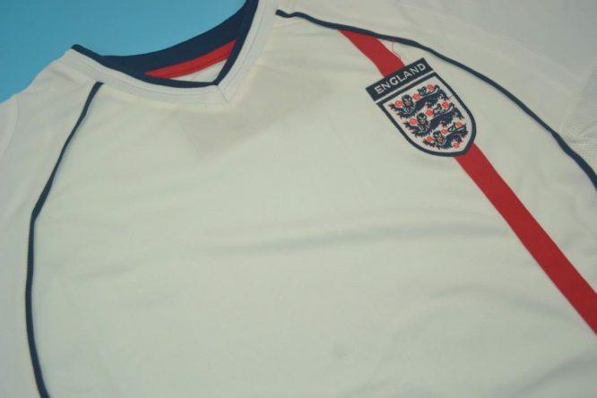 Shirt Front Alternate, England 2002 Home Short-Sleeve