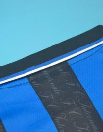 Shirt Collar Back, Inter Milan 1997-1998 Home