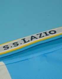 Shirt Collar Back, Lazio 1999-2000 Third