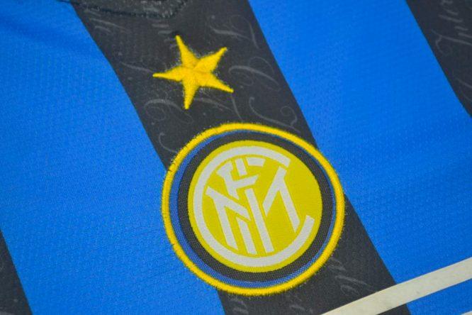 Shirt Inter Logo, Inter Milan 1997-1998 Home