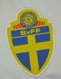 Shirt Sweden Emblem, Sweden 1994 Away