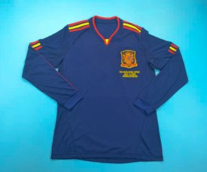 Jersey Front, Spain 2010 World Cup Final Away Long-Sleeve