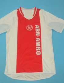 Shirt Front, Ajax Amsterdam 2004-2005 Home Short-Sleeve
