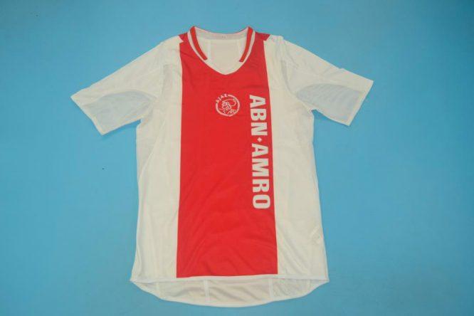 Shirt Front, Ajax Amsterdam 2004-2005 Home Short-Sleeve