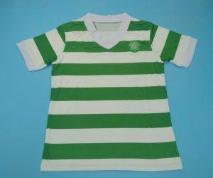 Shirt Front, Celtic 1979-1982 Home Short-Sleeve