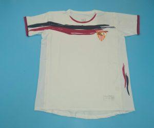 Shirt Front, FC Sevilla 2006-2007 Home Short-Sleeve