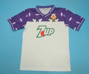 Shirt Front, Fiorentina 1992-1993 Away Short-Sleeve