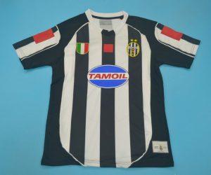 Shirt Front, Juventus 2002-2003 Home Short-Sleeve