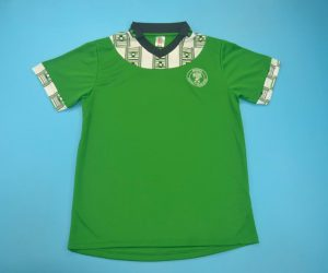 SShirt Front, Nigeria 1994-1995 Home