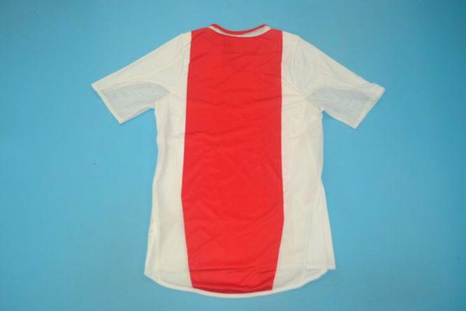 Shirt Back Blank, Ajax Amsterdam 2004-2005 Home Short-Sleeve