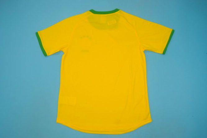 Shirt Back Blank, Brazil 2000-2002 Home Short-Sleeve