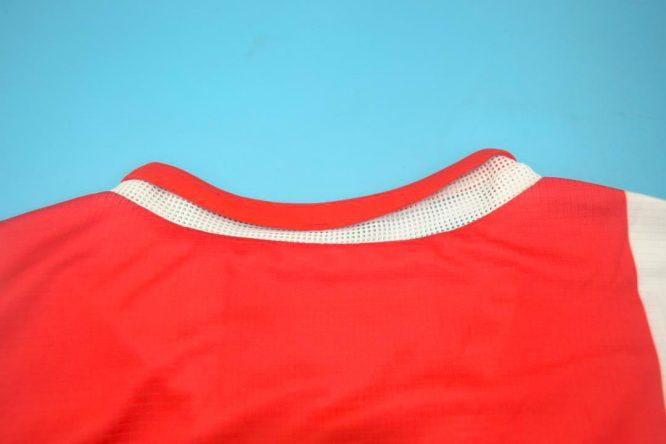 Shirt Collar Back, Ajax Amsterdam 2004-2005 Home Short-Sleeve