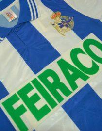 Shirt Front Alternate, Deportivo La Coruna 1999-2000 Home Short-Sleeve
