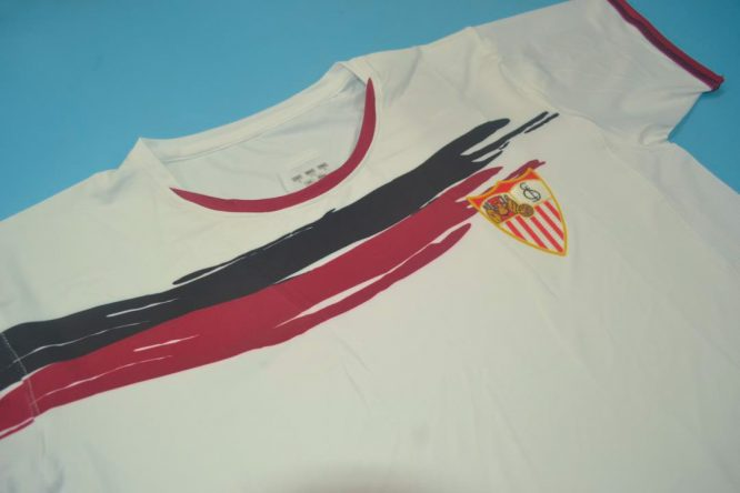 Shirt Front Alternate, FC Sevilla 2006-2007 Home Short-Sleeve