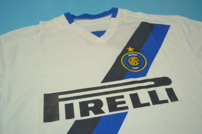 Shirt Front Alternate, Inter Milan 2002-2003 Away Short-Sleeve