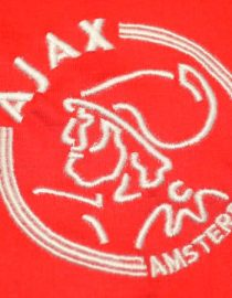 Shirt Ajax Emblem, Ajax Amsterdam 2004-2005 Home Short-Sleeve
