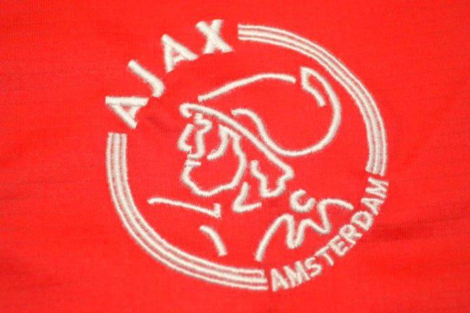 Shirt Ajax Emblem, Ajax Amsterdam 2004-2005 Home Short-Sleeve