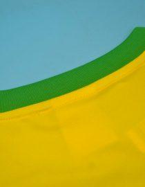 Shirt Collar Back, Brazil 2000-2002 Home Short-Sleeve