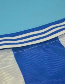Shirt Collar Back, Deportivo La Coruna 1999-2000 Home Short-Sleeve