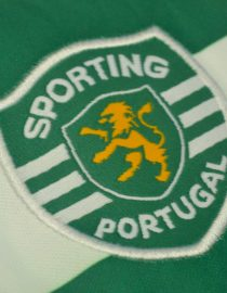 Shirt Sporting Emblem, Sporting Lisbon Home Short-Sleeve