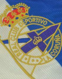 Shirt Deportivo Emblem, Deportivo La Coruna 1999-2000 Home Short-Sleeve
