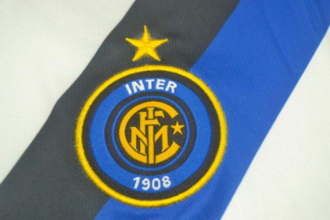Shirt Inter Emblem, Inter Milan 2002-2003 Away Short-Sleeve