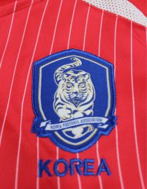 Shirt Korea Logo, South Korea 2002 Home Short-Sleeve