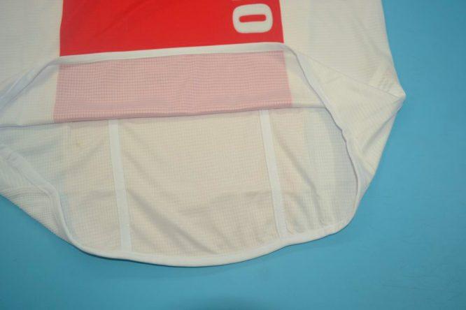 Shirt Opening, Ajax Amsterdam 2004-2005 Home Short-Sleeve