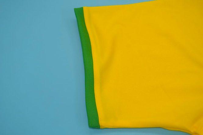 Shirt Sleeve, Brazil 2000-2002 Home Short-Sleeve