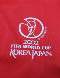 Shirt 2002 World Cup Logo, South Korea 2002 Home Short-Sleeve