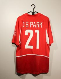 Ji-Sung Park Nameset, South Korea 2002 Home Short-Sleeve