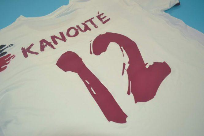 Kanoute Nameset, FC Sevilla 2006-2007 Home Short-Sleeve