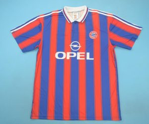 Shirt Front, Bayern 1995-1997 Home Short-Sleeve