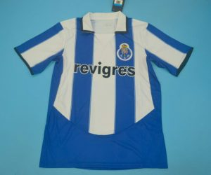 Shirt Front, FC Porto 2003-2004 Home Short-Sleeve