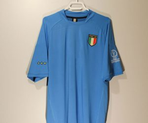 Shirt Front, Italy 2002 World Cup Home Short-Sleeve
