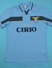 Shirt Front, Lazio 1999-2000 Home Short-Sleeve