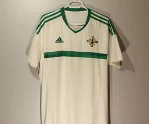 Shirt Front, Northern Ireland 2016 Home Short-Sleeve