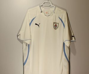 Shirt Front, Uruguay 2010 Home Short-Sleeve