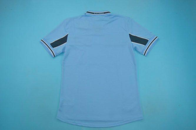 Shirt Back Blank, Lazio 1999-2000 Home Short-Sleeve