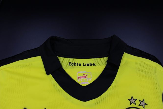 Shirt Collar Front, Borussia Dortmund 2012-2013 Winter Christmas Long-Sleeve