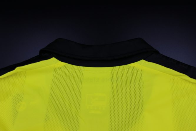 Shirt Collar Back, Borussia Dortmund 2012-2013 Winter Christmas Long-Sleeve