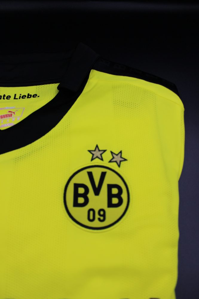 Shirt Borussia Dortmund Emblem, Borussia Dortmund 2012-2013 Winter Christmas Long-Sleeve