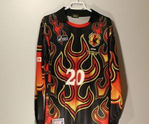 Kawaguchi Nameset Front, Japan 1998 Goalkeeper Long-Sleeve