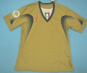 Shirt Front, Italy 2006 Goalkeeper Gold Buffon Short-Sleeve