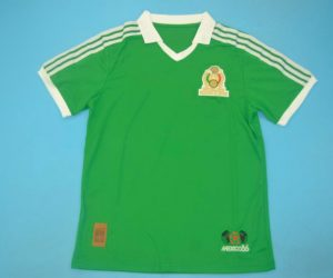Shirt Front, Mexico 1986 Home Short-Sleeve